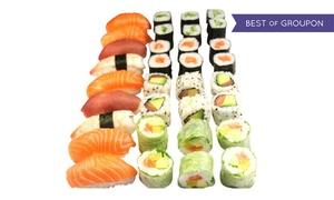 L'atelier sushi: Plateau Shifumi, Itsu ouHanako, riz et soupe misopour 1 à 4 personnes au choix dès10,90 € àL'atelier sushi