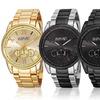 August Steiner Men's Chronograph Stainless Steel-Bracelet Watch