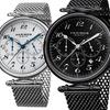 Akribos XXIV Men's Chronograph Mesh-Bracelet Watch