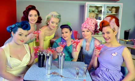 Vintage Hair Styling and Make-Up Class on 10 November - 14 January, Le Keux Vintage Salon (Up to 58% Off)