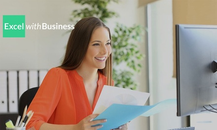 Online Microsoft Office Course Bundle for One or Ten Users from Excel With Business
