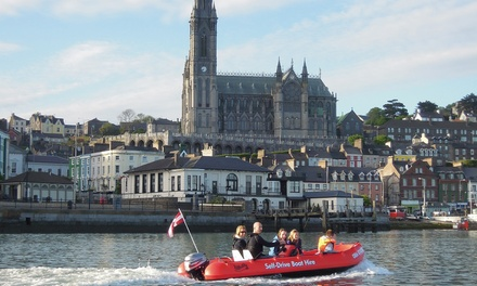Cork Harbour Boat Hire: One Hour Self Drive Boat Tour (41% Off)