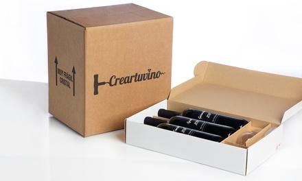 Kit para crear vino con 3 botellas más opción a 6 con Crear Tu Vino (hasta 30% de descuento)