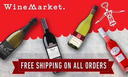 WineMarket: $5 for $25 Credit + Free Delivery for New Customers