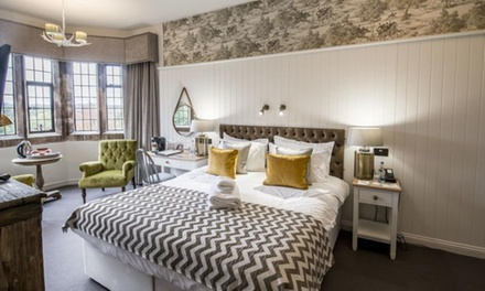 Cotswolds: 1 or 2 Nights with Breakfast and Dinner at Stonehouse Court Hotel