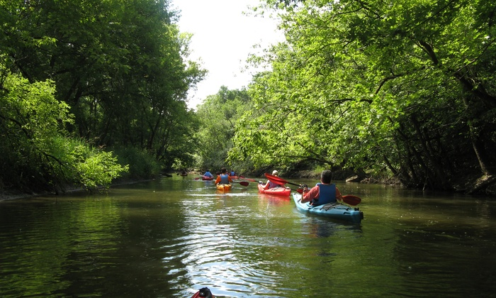 Nature at Sunset Kayak Tours with Chicago River Canoe & Kayak (Up to 40% Off). Six Options Available.