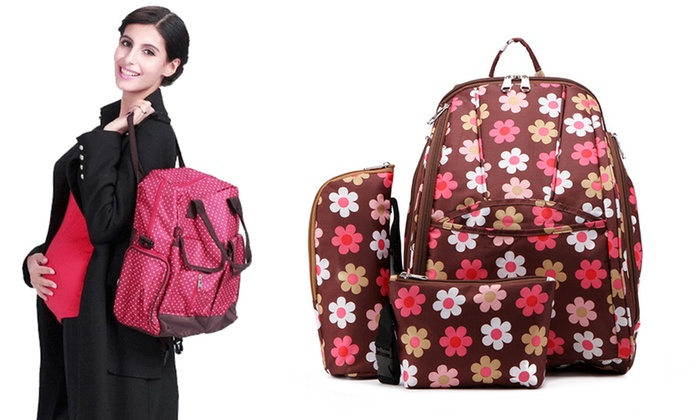 UDS Global Limited: $34 for a Mummy Diaper Bag in Choice of Five Colours/Patterns