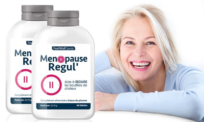 Complément alimentaire Menopause Regul, aide à réduire les bouffées de  chaleur
