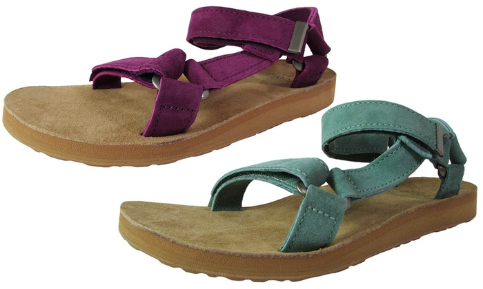 4eb79224079a Teva Original Universal Suede Women s Sandals