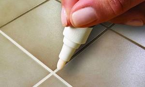 Stylo blanchisseur pour joints de carrelage