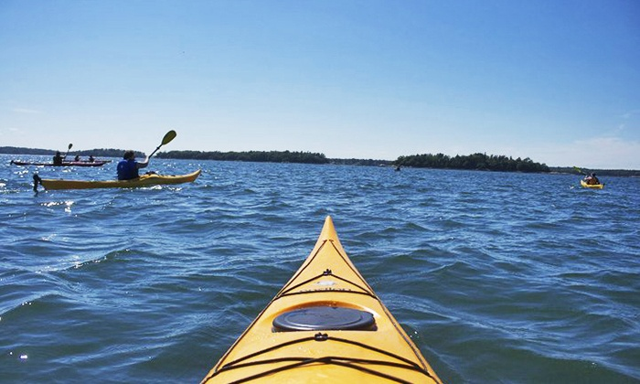 Lincoln Canoe & Kayak - Freeport: Half-Day Guided Kayak Tour for One, Two, or Four from Lincoln Canoe & Kayak (Up to 62% Off)