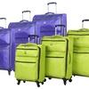 Lucas Vortex Lite Ultra-Lightweight Spinner Luggage Set (3-Piece)