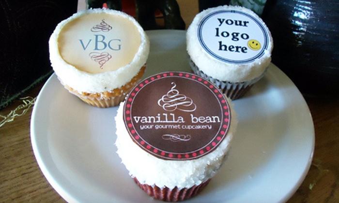 Vanilla Bean Gourmet - Central Sacramento: Half-Dozen Cupcakes, Two Dozen Custom Cupcakes, or $5 for $10 Worth of Frozen Yogurt at Vanilla Bean Gourmet