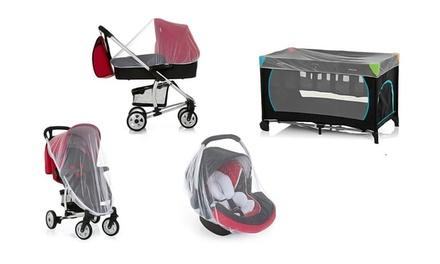 1 ou 2 moustiquaires universelles pour poussette, siège auto et lit bébé (SaintEtienne)