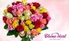 22, 33 oder 44 bunte Rosen