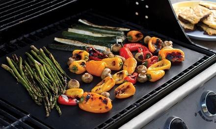 1er-, 2er- oder 4er-Set Barbecue- und Grill-Matte aus Silikon  (Sie sparen: 73%)