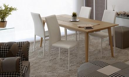 ▷ set di 4 sedie da soggiorno offerte u2022 recensioni u2022 prezzi da u20ac 179