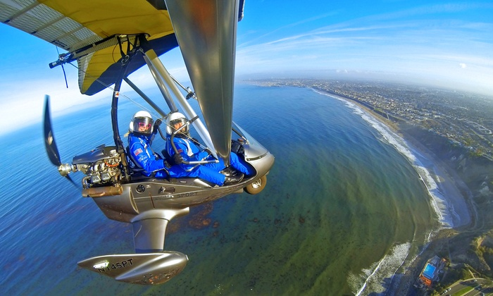 Pacific Blue Air - Hawthorne: $99 for a 45-Minute Open-Air Instructional Flight Experience at Pacific Blue Air ($210 Value)