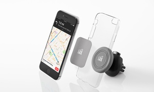 LAX Gadgets Premium Magnetic Vent Car Mount Phone Holder (1-or 2-Pack)