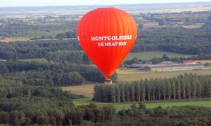 Montgolfière Sensation - Région Ouest: 1h20 de vol en montgolfière pour 1 personne dès 119 € avec Montgolfière Sensation - Région Ouest
