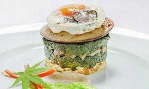 Ristorante Miron: Raffinato menu a base di funghi e tartufo con bottiglia di vino al ristorante Miron, 2 forchette Guida Michelin