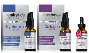 Lumirance Face-Lift Kit with Retinol Beauty Oil or Eye Cream or Mask