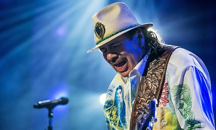 Santana at PNC Bank Arts Center on Sunday, August 23, at 8 p.m.  (Up to 49% Off)