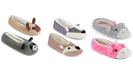 Women's Animal Ballet Slippers