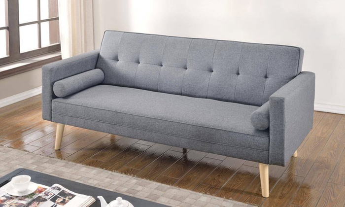Groupon Goods Global Gmbh Boston Fabric Sofa Bed In Choice Of Colour For 169 99