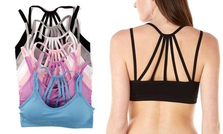 Sociology Women's Multi-Strap Bralettes (6-Pack)