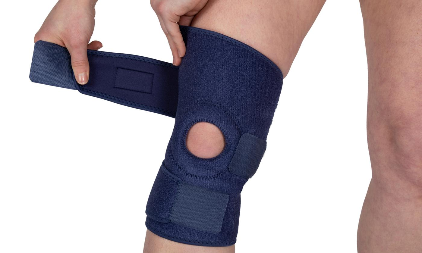 One or Two Wrap Around Knee Brace Supports