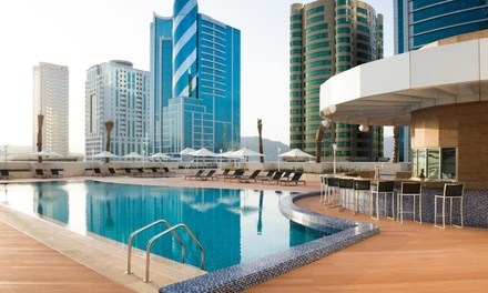 Fujairah: 1 Night for Two with Options for Breakfast and Half Board at Adagio Fujairah Luxury ApartHotel