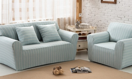 Stretchable Cotton Sofa Cover Groupon Goods