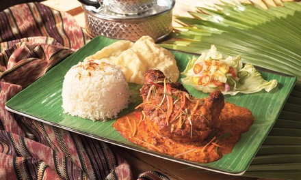 TwoCourse Meal with Drink for Two or Four at Masala Restaurant
