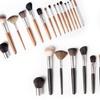 Professional Makeup Brush Collection (15-Piece)