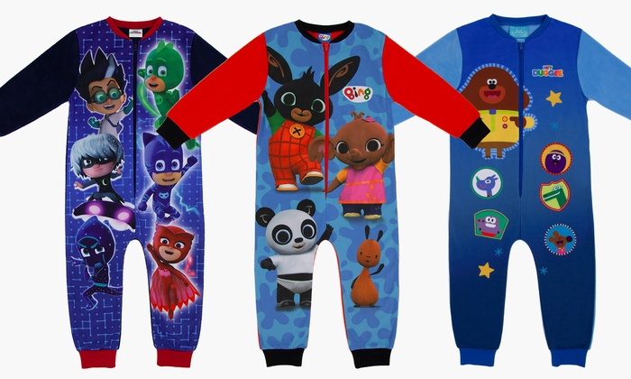Toddler's Character Fleece Onesies from £6.99