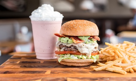 Burger with Fries and Drinks for Up to Five at BUILT Custom Burgers