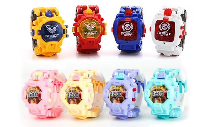 Robot Kids Electronic Watch