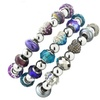 Crystal and Glass Bead Bracelet Collection