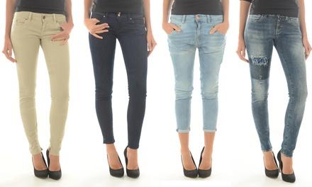 Jean stretch MeltinPot pour femme, modèles, coloris et tailles aux choix, à 44,90 €