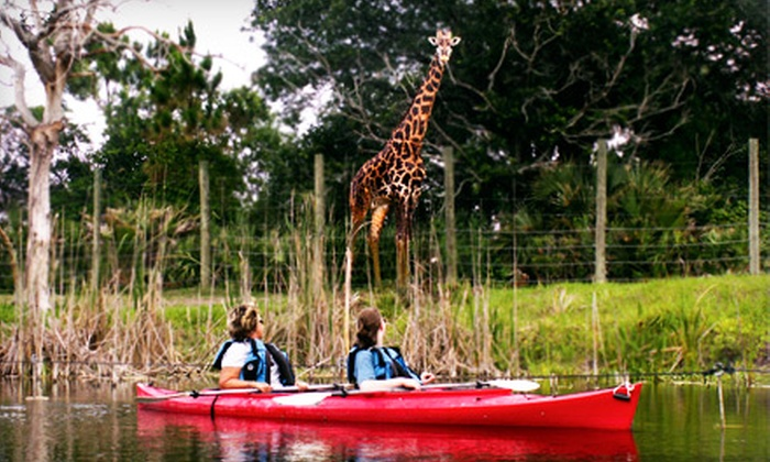 Brevard Zoo - Melbourne: $51 for a One-Year Membership to Brevard Zoo in Melbourne (Up to $101.50 Value)