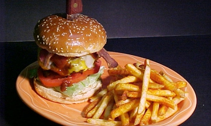 Hamburger Mary's - Downtown Palm Springs: $15 for $30 Worth of Burgers, Drinks, and More at Hamburger Mary's