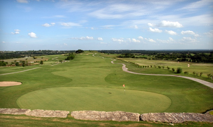 Canyon West Golf Club - Weatherford: Golf Outing for One, Two, or Four with 18-Hole Round, Cart Rental, Hot Dogs, and Chips at Canyon West Golf Club in Weatherford