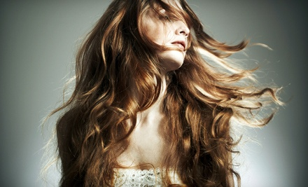 Haircut and Style with any Stylist (a $60 value) - Salon Sorelle in Fairlawn