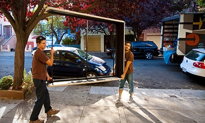 Artists Moving - San Francisco: $50 for One Hour of Moving Services from Artists Moving ($100 Value)