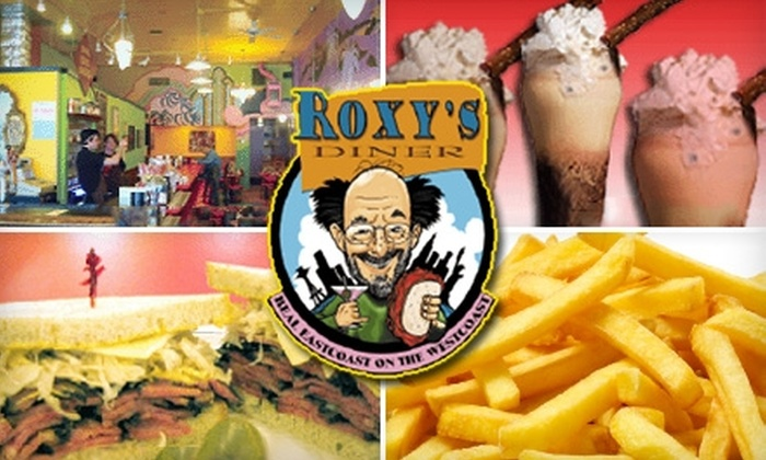 Roxy's Diner - Fremont: $10 for $20 Worth of Diner Eats (or $23 Worth During Off-Peak Hours) at Roxy's