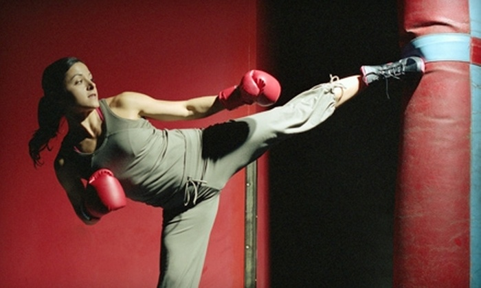 Champion Sport Karate - Papillion Second II: $20 for 10-Class Kickboxing Punch Card at Champion Sport Karate in Papillion ($45 Value)
