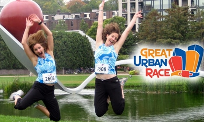 The Great Urban Race - Downtown Toronto: $35 Entry for a Two-Person Team in Great Urban Race