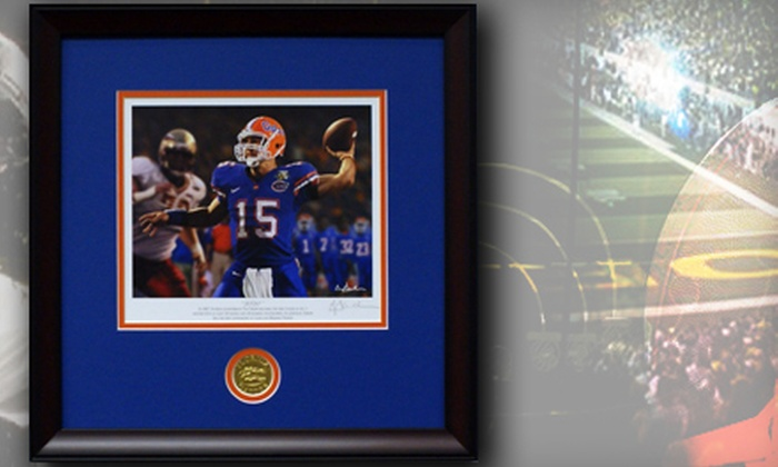 Framed College Football Art: $25 for $50 Worth of Merchandise from Framed College Football Art