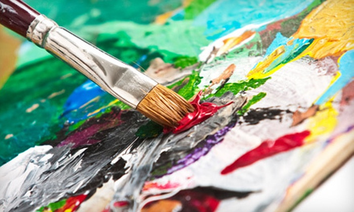 Juiced on Imagination - Downtown Fort Collins: BYOB Adult Therapeutic Painting Class for Two or Four at Juiced on Imagination in Fort Collins (Up to 69% Off)